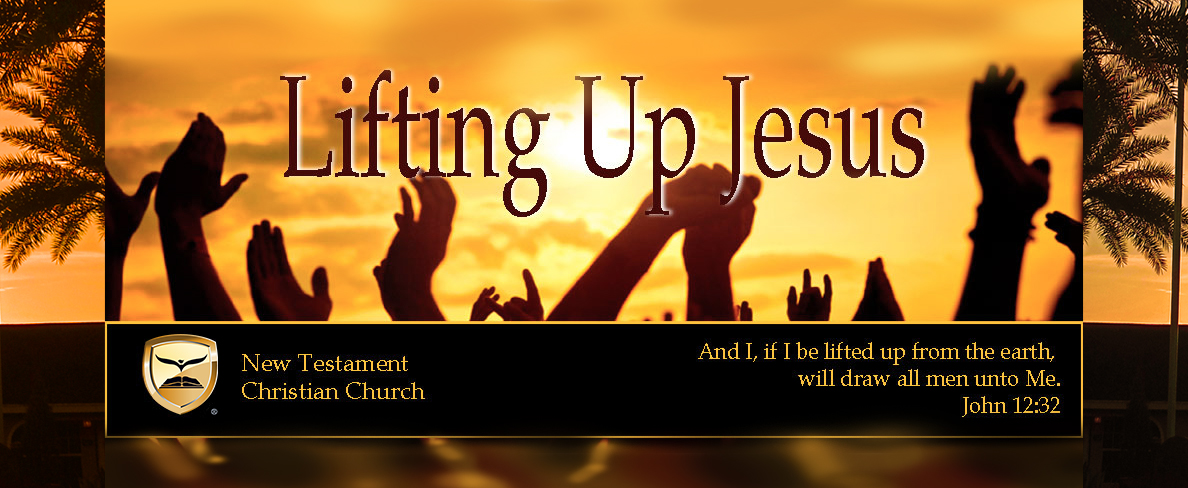 John 12:32 And I, if I be lifted up from the earth, will draw all men unto me