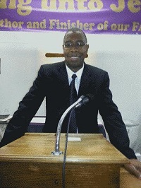 new-testament-christian-church-amarillo-tx-Pastor Cobb in the Pulpit