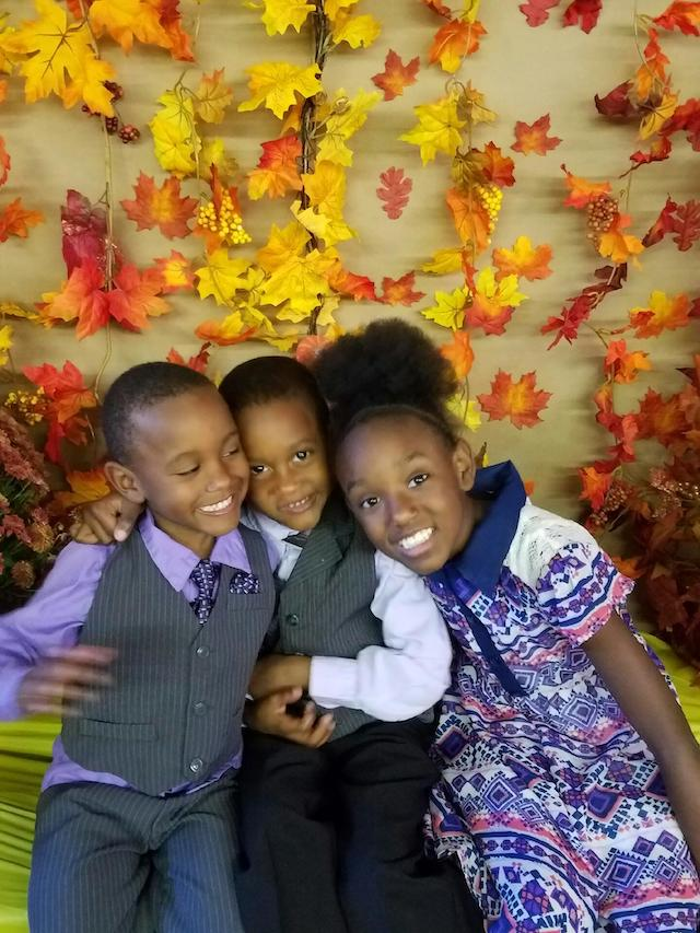 2016 Fall Childrens Party 3 kids