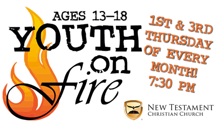 Childrens Ministry YOF Ages 13-18