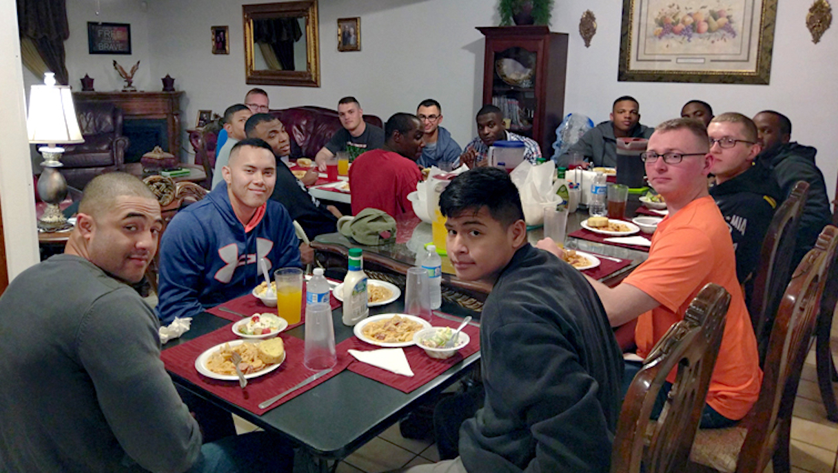 Fort Polk Servicemen's Home Dinner